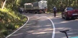 camionista dell'incidente con zanardi
