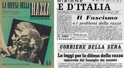 14 Luglio 1938 manifesto difesa della razza