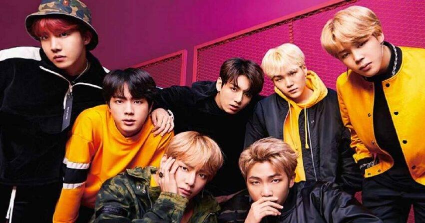 BTS gruppo coreano musicale