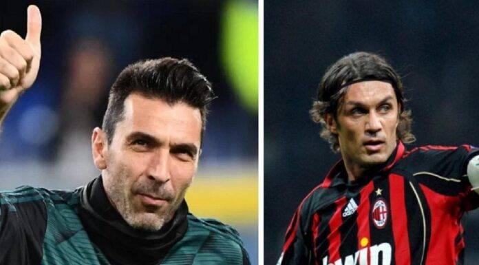 Gianluigi Buffon e Paolo Maldini