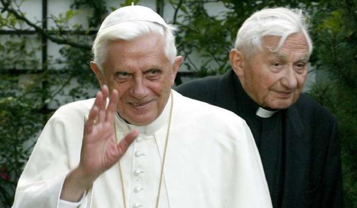 Georg Ratzinger e Benedetto XVI