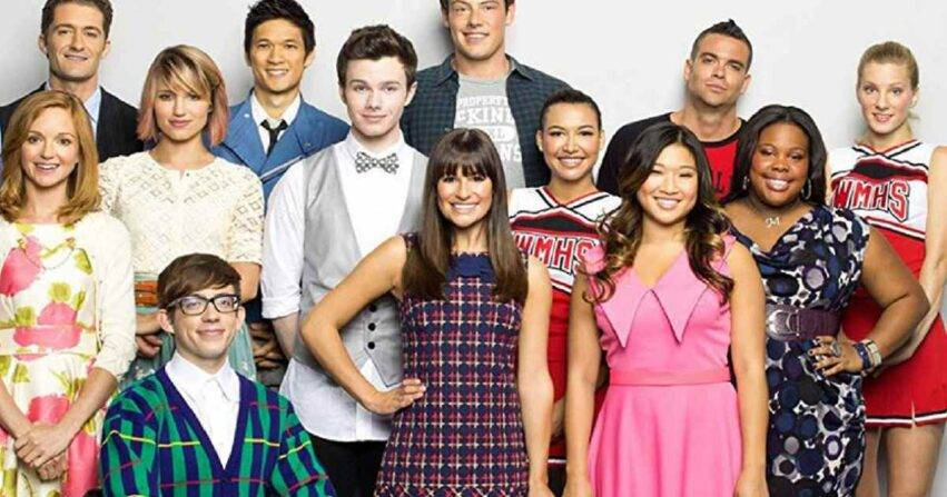 Il cast di Glee