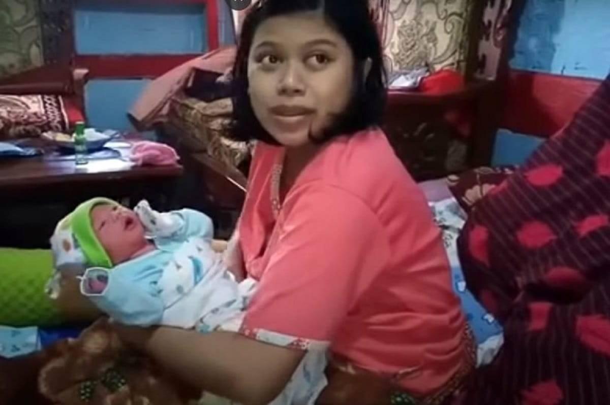 Incinta un ora prima del parto