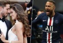 Izabel Goular tra Kevin Trapp e Neymar
