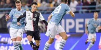 Juventus e Lazio in azione