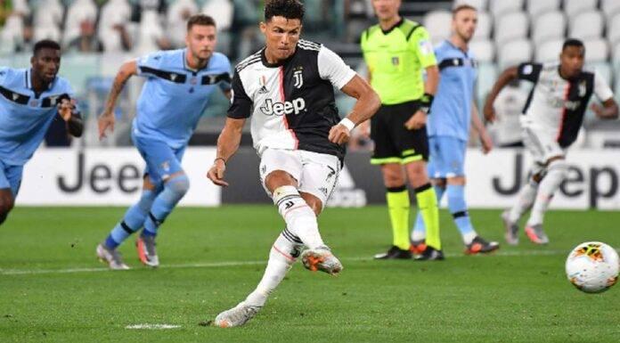 Juventus Lazio Ronaldo