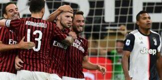 Milan Juventus gol Rebic