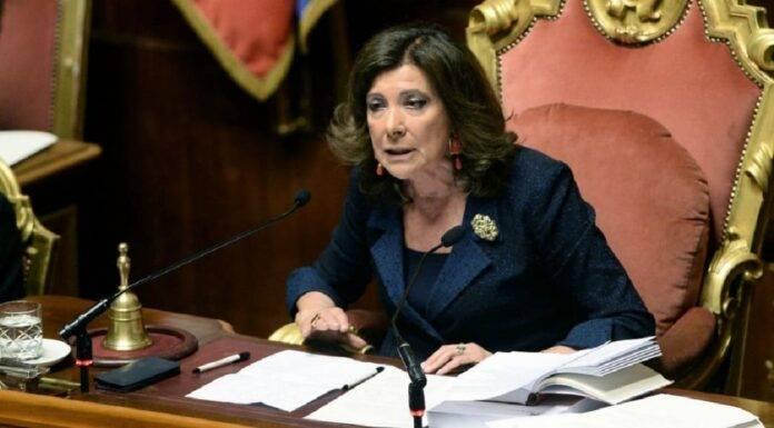 Presidente Casellati - desecretati documenti