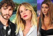Stefano De Martino, Alessia Marcuzzi, Belen Rodriguez