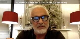 Flavio Briatore a Stasera Italia