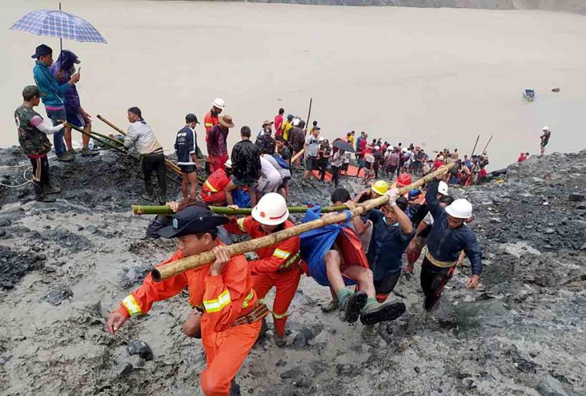 Dramma in una miniera di giada in Birmania: 113 morti e cent