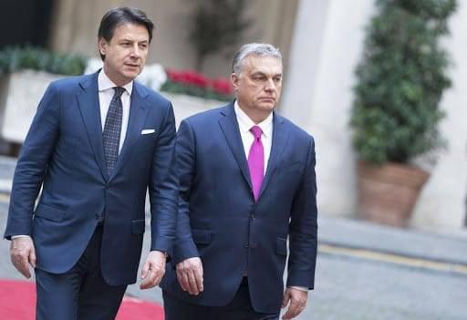 Orban con Conte
