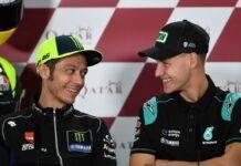 Quartararo con Rossi