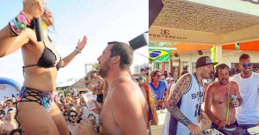 Matteo Salvini al Papeete