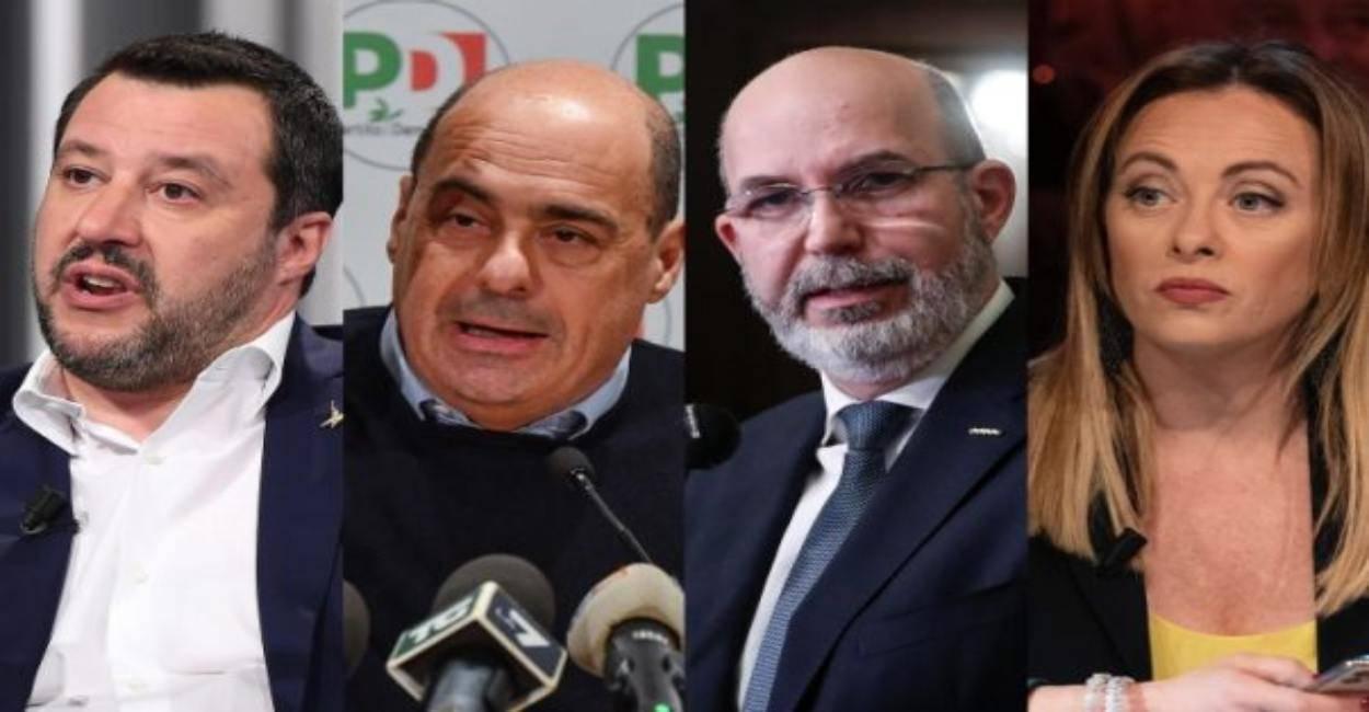 Sondaggi politici, torna a crescere la Lega. PD al 20,5%, M5