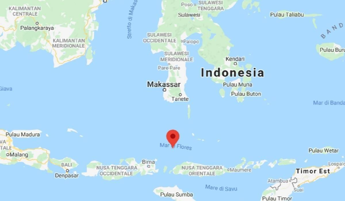 Indonesia, forte scossa di terremoto