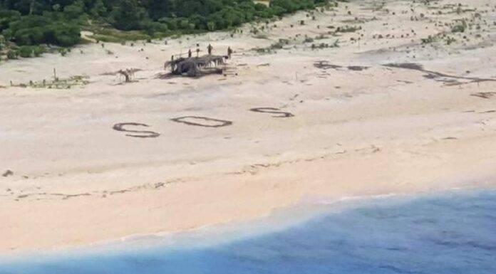 Micronesia, tre naufraghi bloccati su in'isola deserta per 3 giorni