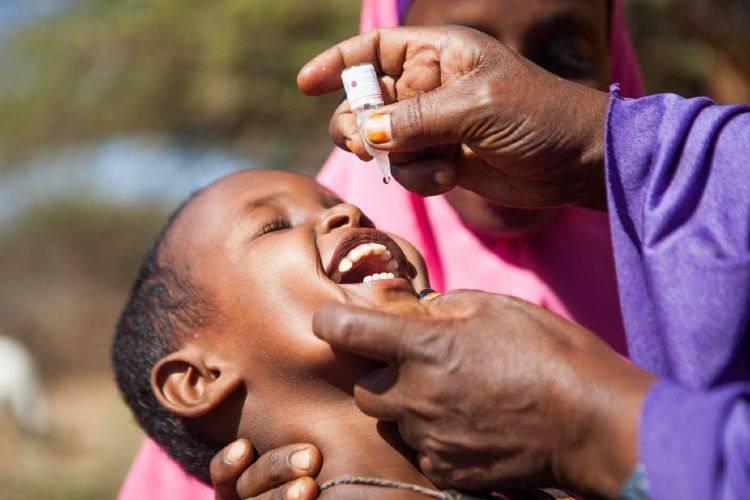 africa libera dalla poliomielite