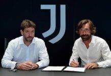 Pirlo alla firma con Agnelli
