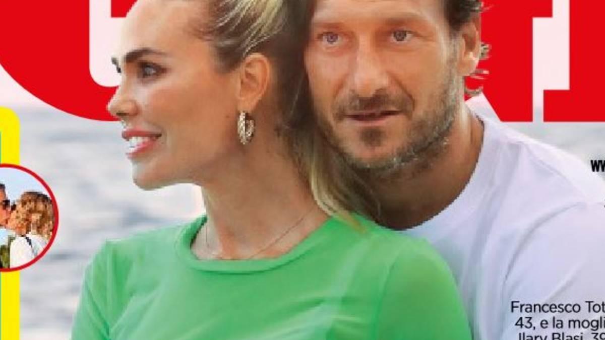"""Ilary Blasi posta una foto su Ig con suo """"marito"""", ma non è Francesco Totti"""