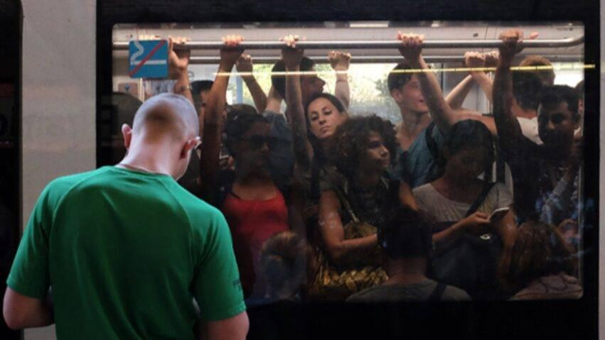 Bus affollato