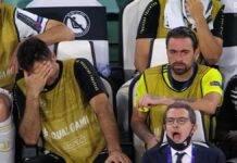 Disperazione post Juve-Lione