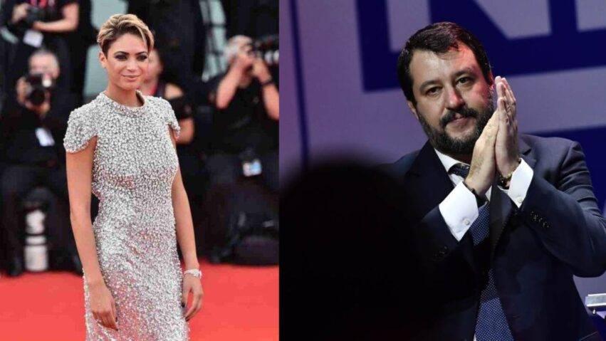 Elodie e Salvini