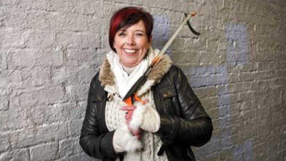 Chi è Linda Dykes |  conduttrice britannica di Malati di pulito |  biografia e curiosità