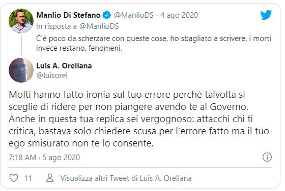 Orellano Replica a Di Stefano