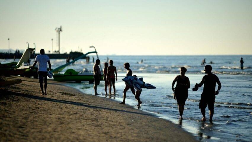 Il mare a Riccione