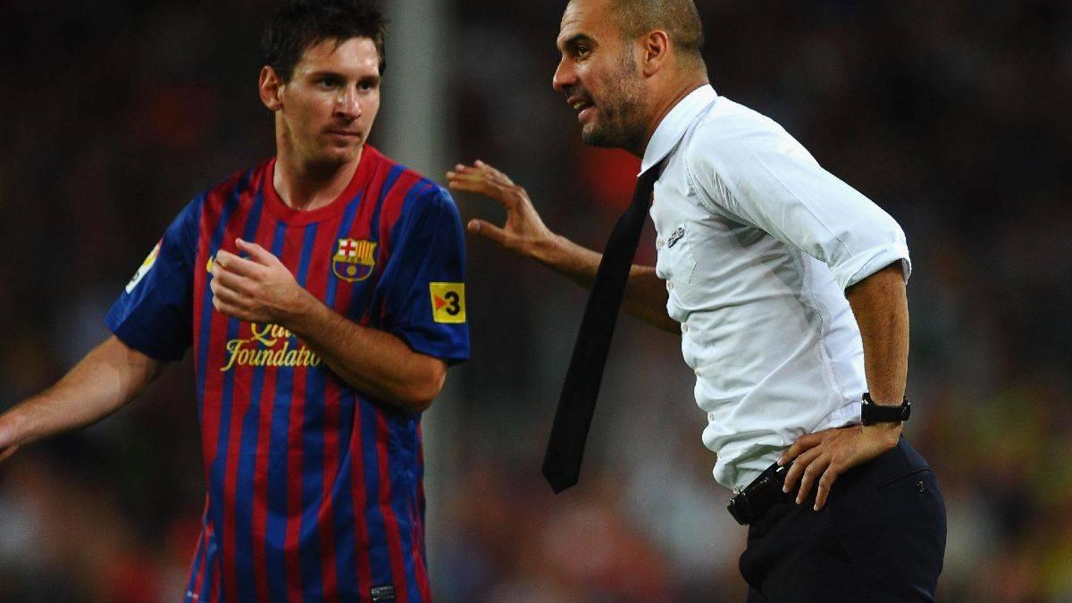Messi con Guardiola
