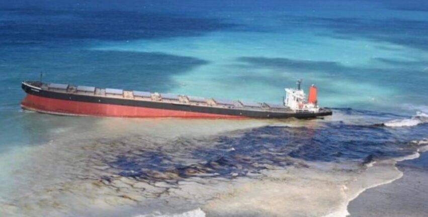 tonnellate di carburante in mare