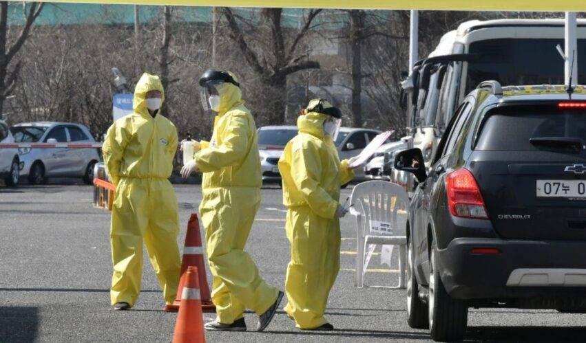 nuovo boom di contagi in corea