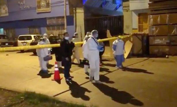 Immagini da Lima, nella zona del locale dov'è avvenuta la carneficina