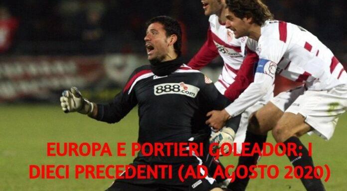 I portieri goleador in Europa. Lui è Palop