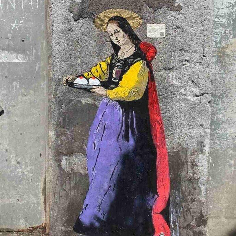 tvboy dipinge sant'agata