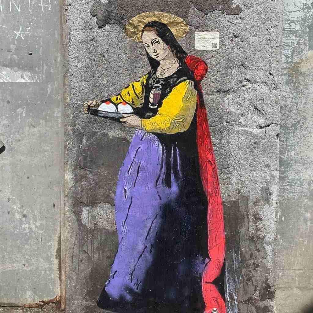 Chi è Tvboy, l'artista palermitano che ha celebrato Catania reinterpretando Sant'Agata?