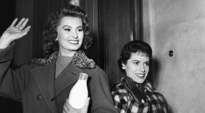 Sophia Loren e Franca Valeri