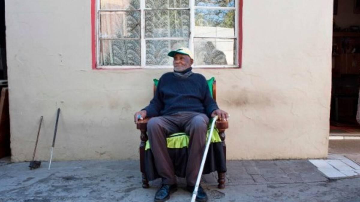 Il sudafricano più anziano del mondo
