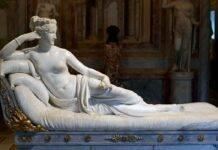 trovato turista che ha danneggiato la stuatua di Antonio Canava, Paolina Borghese