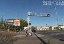 L'uomo bloccato sulla sedia a rotelle a Lodi