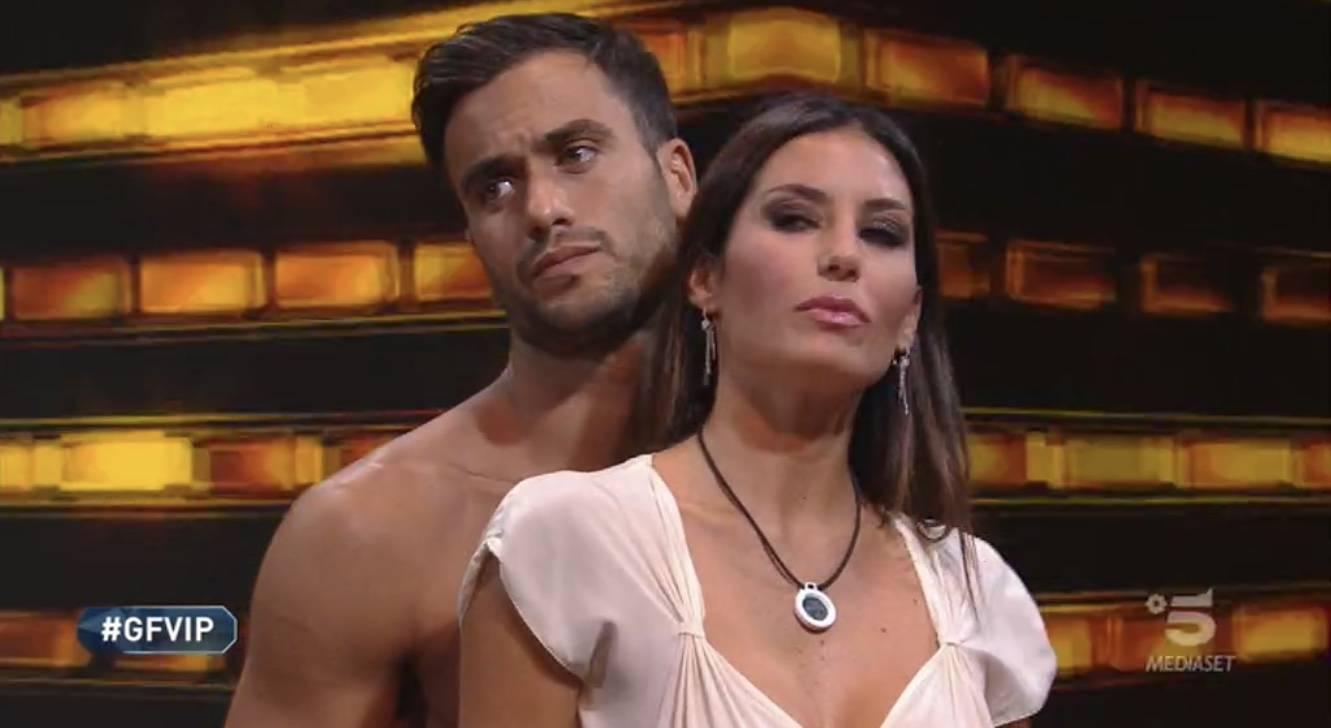 """Grande Fratello Vip, effusioni nella notte tra Pierpaolo Petrelli ed Elisabetta Gregoraci. Lui: """"Vorrei baciarti"""""""
