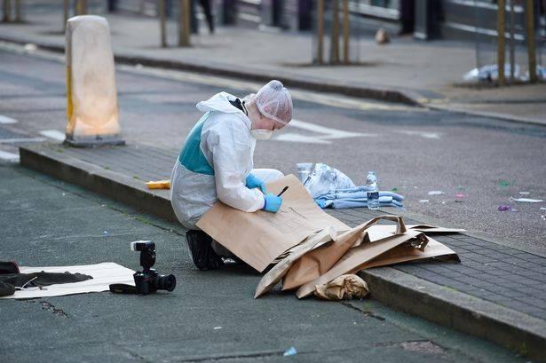 Birmingham, la scena dopo gli accoltellamenti