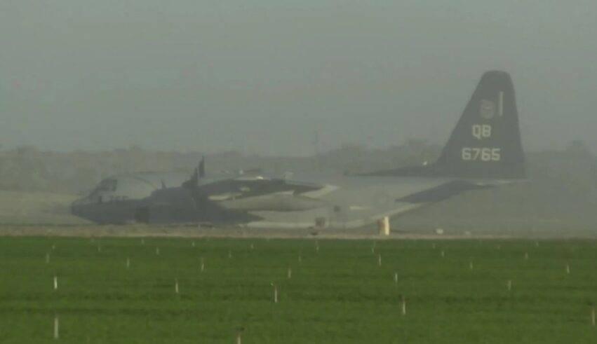 collisione tra jet militare e aereo per rifornimento
