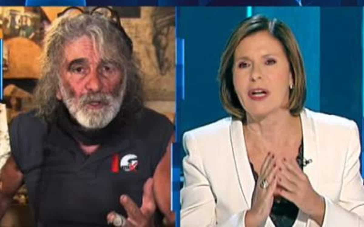 """Bianca Berlinguer contro Corona: """"Maleducato e sgradevole"""". Le sue scuse: """"Sono stato un cretino"""""""