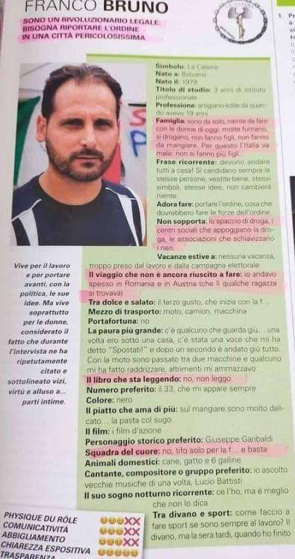 L'intervista di Franco Bruno