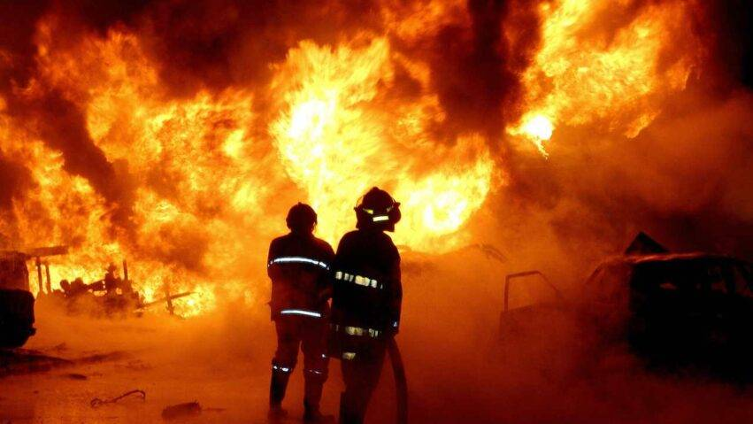 Incendio in casa