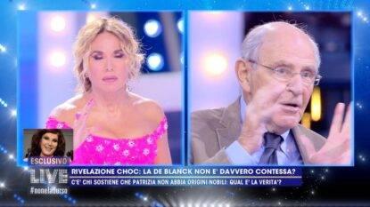 Patrizia De Blanck rivelazioni Live Non è la D'Urso