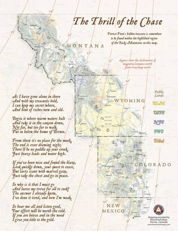 La poesia per la caccia al tesoro di Forrest Fenn