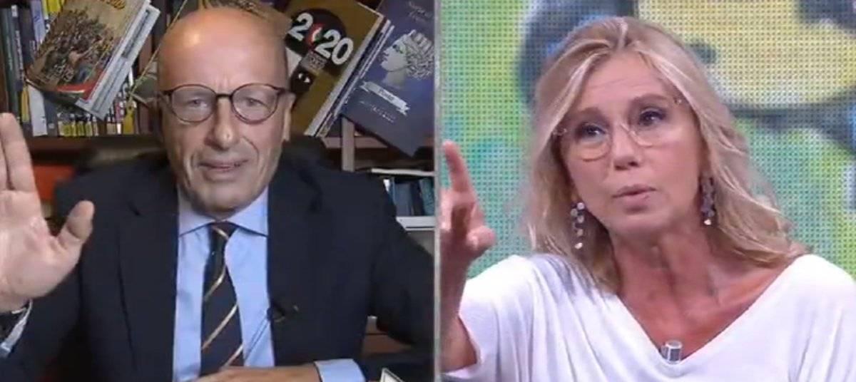 Concita De Gregorio contro Sallusti che la chiama per nome, la presa di posizione di Feltri